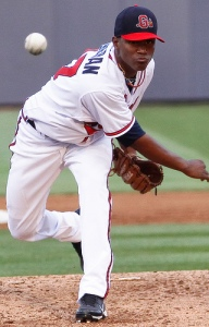 Teheran No.31 in MLB.com Top 100 (Leslie Watts / Gwinnett Braves)