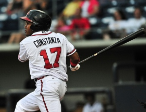 Jose Constanza led the IL in hitting with a .314 batting average.
