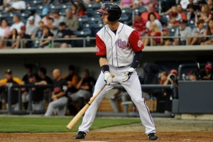 Jordan Schafer with the Gwinnett Braves in 2010.