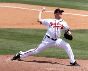 Cory Rasmus finished second in saves with the M-Braves in 2012. (Brian Byrd)