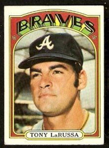 Tony La Russa played for Atlanta in 1971 and was a member of the Richmond Braves in 1972.