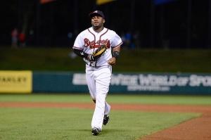 Jose Constanza, Gwinnett outfielder from 2011-13. (Chris Roughgarden)