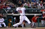 Ernesto Mejia, Gwinnett first baseman from 2012-13. (Chris Roughgarden)