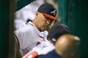 Gwinnett Braves manager Brian Snitker. (Chris Roughgarden)