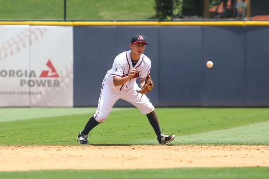 Castro played all but one of his 89 games with Gwinnett at shortstop, but he has played second base in four games for Atlanta. (Taylor Botta)