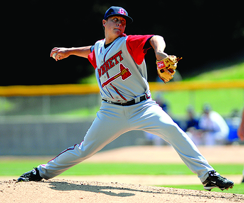 Medlen was 5-0 with a 1.19 ERA in eight games with the G-Braves in 2009 (Jason Braverman, Gwinnett Daily Post).